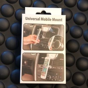 Cell phone mobile mount